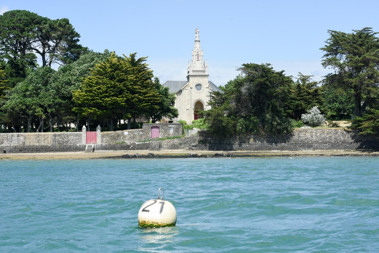 La Chapelle Saint Joseph vue de la mer